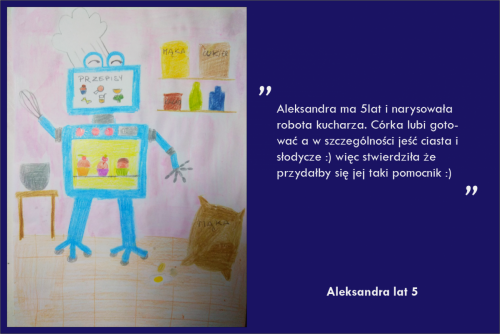 Aleksandra Drągowska lat 5