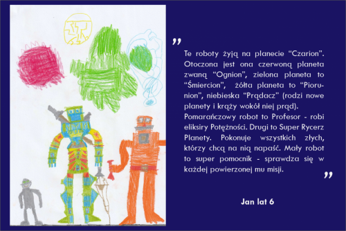 Jan Śmigiera lat 6