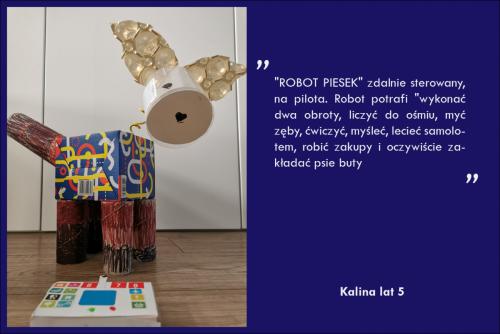 Kalina Ochnik lat 5