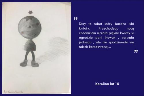 Karolina Kamińska lat 10