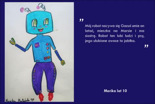 Marika Matejek lat 10