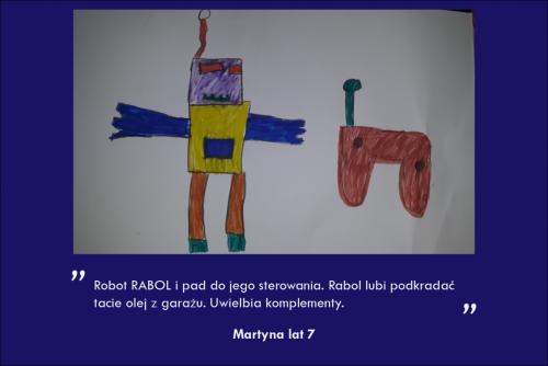 Martyna Rynecka lat 7