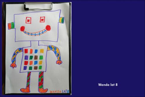 Wanda Marciniszyn lat 8